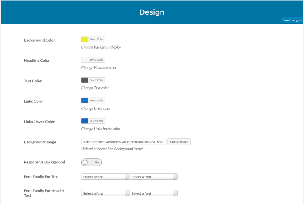 Maintenance mode plugin design options.
