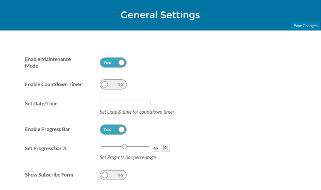 coming-soon-plugin-general-settings